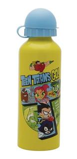 Squeeze De Alumino Teen Titans Go Go Oficial 500ml Amarelo