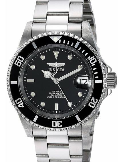 Relógio Invicta Pró Diver Automático 8926ob Original Prata