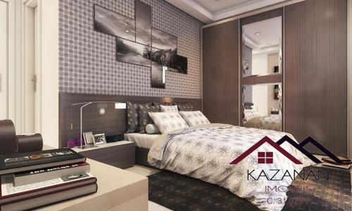 Apartamento De 2 Dormitórios Em Praia Grande - 3457