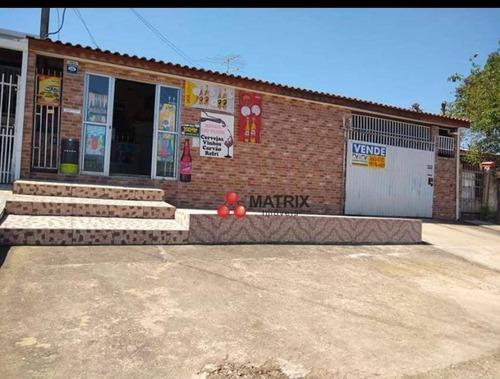 Casa Com 4 Dormitórios À Venda, 210 M² Por R$ 355.000,00 - Jardim Rio Verde - Colombo/pr - Ca1370