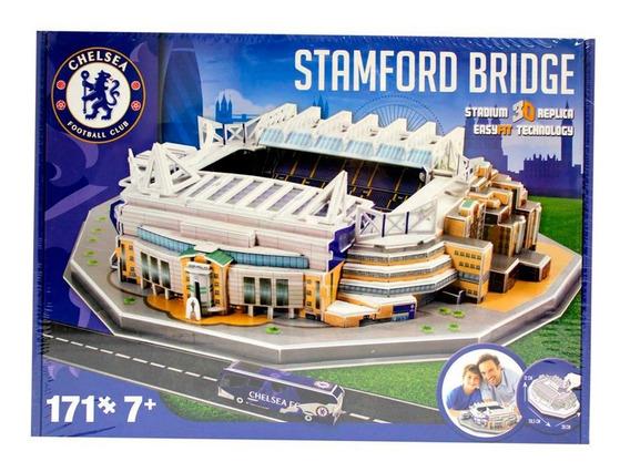Rompecabezas 3d Estadio Chelsea Stamford Bridge Nanostad