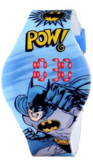 Batman Kids Bat4215 Reloj Analógico De Cuarzo Azul Con Panta