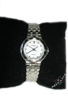 Reloj Nivada Swiss Para Dama Nuevo