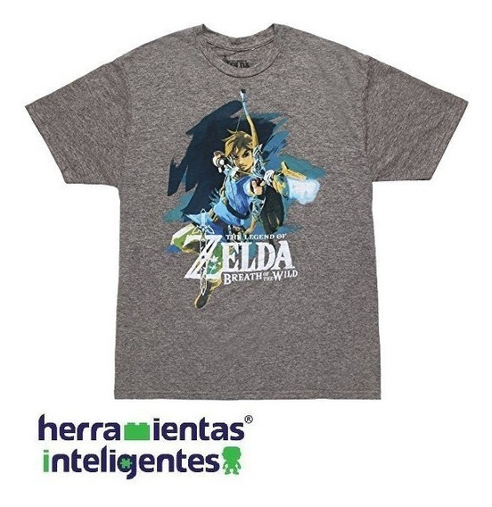 The Legend Of Zelda Siro Breath Of The Wild Playera Bioworld