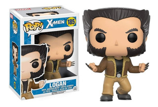 Funko Pop Logan #185 Wolverine X-men Marvel Jugueterialeon