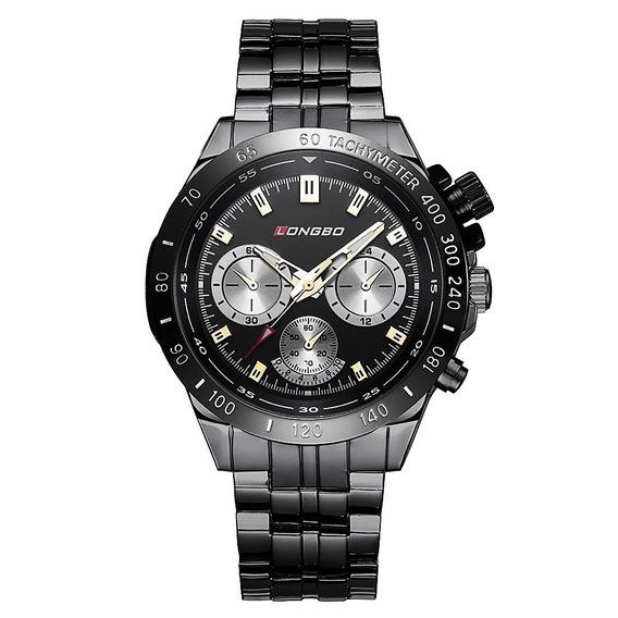 Reloj Hombre Ejecutivo Acero Elegante Original Importado