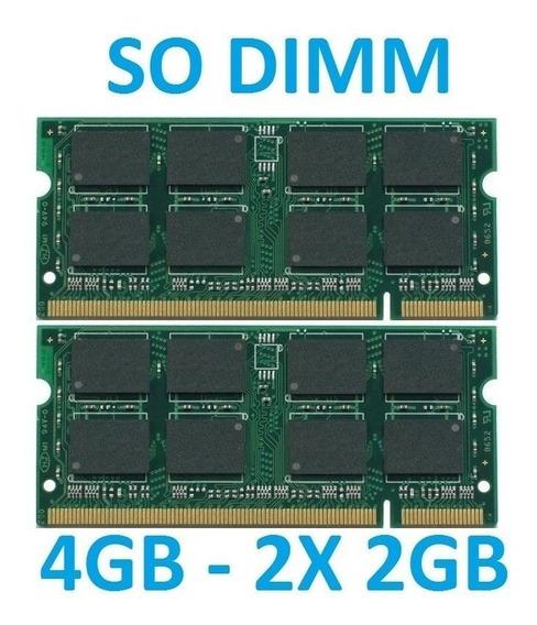Memoria 4gb Ddr2 Acer Aspire 6920 6920g 2*m1