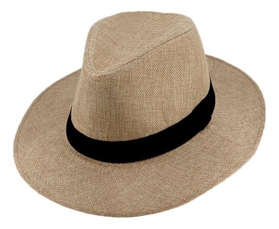 Sombrero Estilo Panamá Forrado En Tela Articulo: 290153