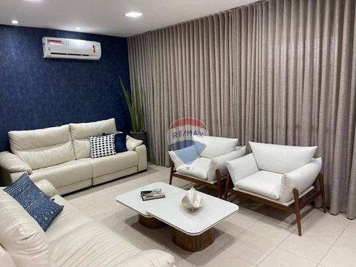 Charmoso Apartamento No Ed. Royal Princess, 185 M², Na Região Do Jardim Das Américas - Ap1208
