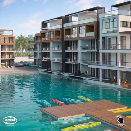 Imagen 1 de 14 de Apartamento De Lujo Amueblados En Venta En Punta Cana