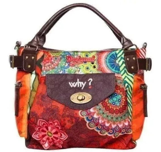 Cartera Bolso Morral Desigual Why Original