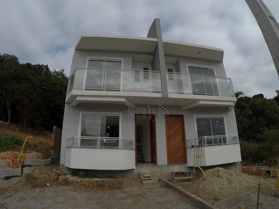 Casa Com 2 Dormitórios À Venda, 80 M² Por R$ 169.000 - Ingleses Do Rio Vermelho - Florianópolis/sc - Ca0615