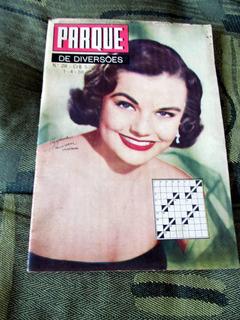 Revista Coquetel 1956 Myrna Hansen Jeff Chandler Rita Moreno