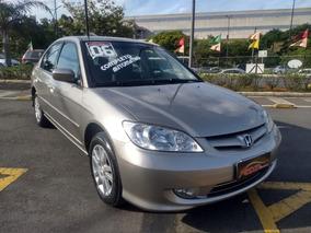 Honda Civic Lx 1.7 Automatico Completo+airbag+abs+som !