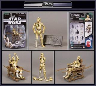 Star Wars C-3po Droid Saga Swargento!!