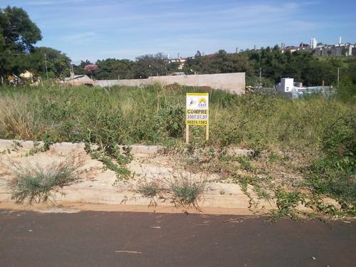 Terreno Em Araraquara - Sp - Te0222_eder