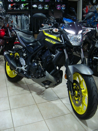 Imagen 1 de 5 de Yamaha Mt 03 Modelo 2018