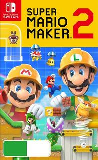 Super Mario Maker 2 Digital Original Nintendo Switch