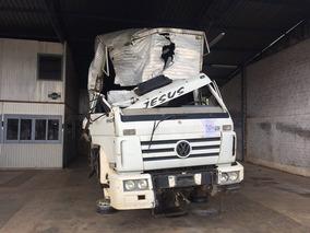 Sucata Vw 17 210 Truck Reduzido Motor Caixa Diferencial Cab.