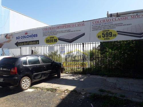 Terreno Para Alugar, 750 M² Por R$ 3.000,00/mês - Vila São Francisco - Hortolândia/sp - Te0880