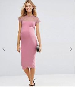 Vestido Coctel Embarazada, Talla 36