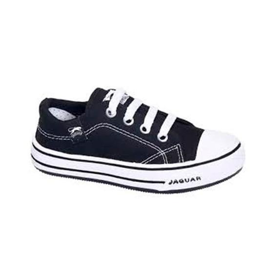 Zapatilla Jaguar Kids 128 Negro T 20 21 22 23 24 25 Niños