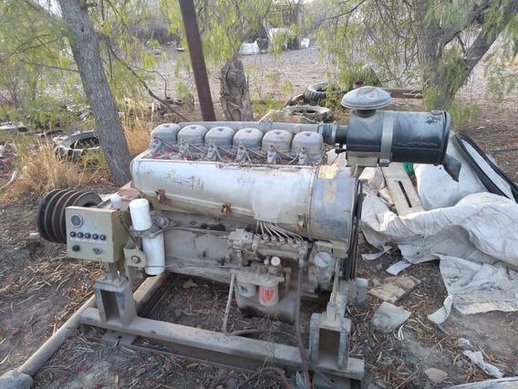 Motor Deutz 6 Cilindro Con Cabezal Para Bombeo