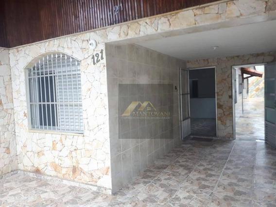 Casa Com 2 Dormitórios À Venda, 79 M² Por R$ 290.000 - Maracanã - Praia Grande/sp - Ca0189