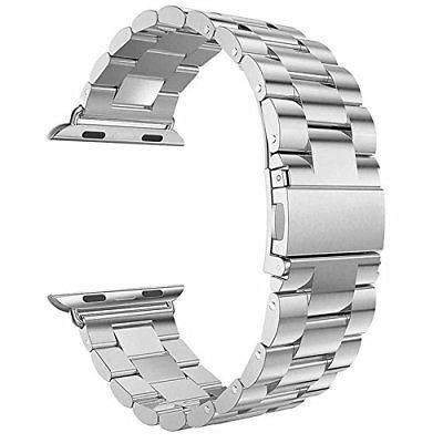 Extensible/correa Premium, Acero Para Apple Watch 42mm