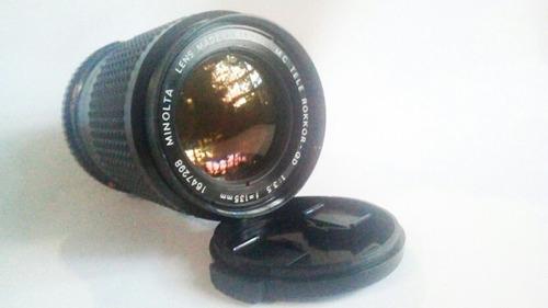 Imagen 1 de 2 de Lente Minolta Rokkor Qd 135mm F/3.5 Como Nuevo