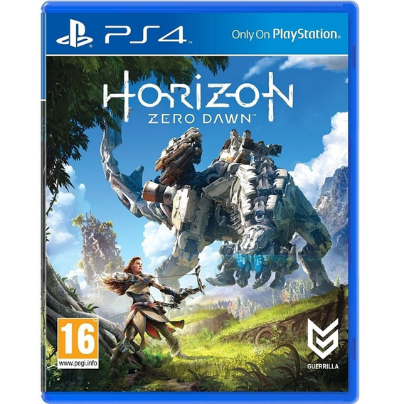 Horizon Zero Dawn Ps4 Midia Fisica Novo Original Barato Br