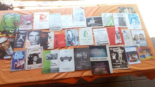 Coleccion 32 Programas Antiguos  De Teatro