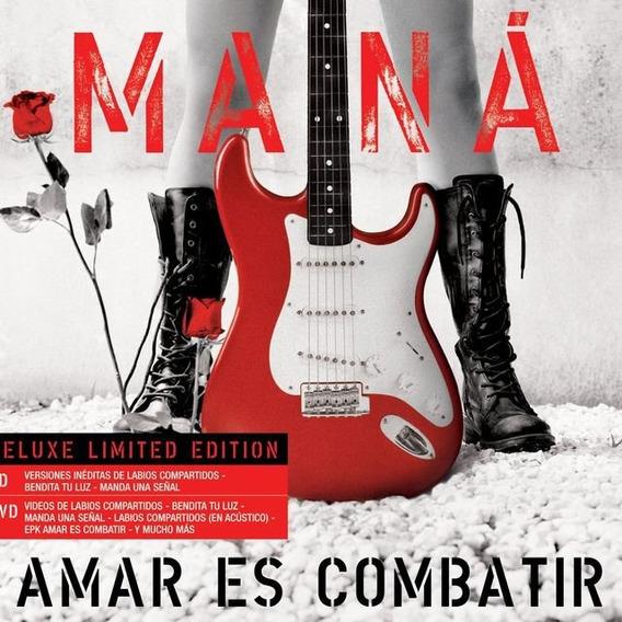 Mana - Amar Es Combatir (cd + Dvd) - W