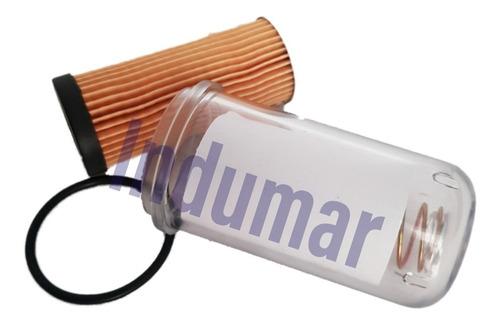 Elemento Filtro Diesel Motor Yanmar Ns50/ns75/ns90 + Copo