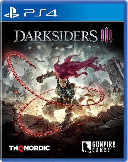 Darksiders Iii - Ps4 - Mídia Física - Novo
