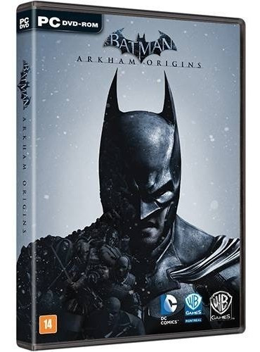 Jogo Pc Batman Arkham Origins Dublado (lacrado) Midia Fisic