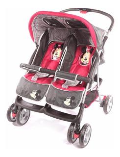 Cochecitos Bebes Mellizos Hermanitos Disney 3306 Babymovil