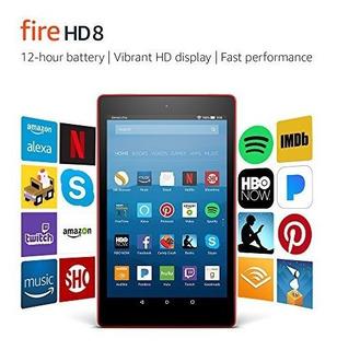 Fire Hd 8 Tablet Con Alexa, Pantalla De 8 Hd, 32 Gb, Punch