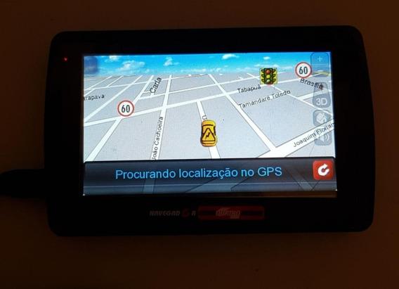 Gps Navegador Guia Quatro Rodas Br430 Usado Ref: J56