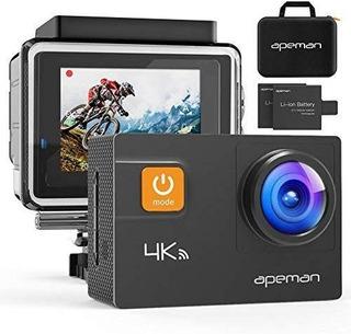 Yi Apeman Action Camera, 20mp Real 4k Wifi Sports Cam Co