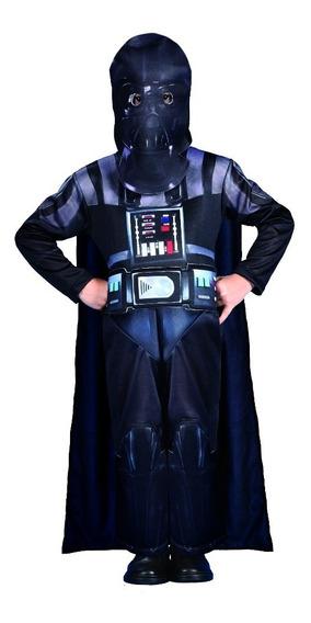Disfraz Star Wars Darth Vader Original New Toys C/luz