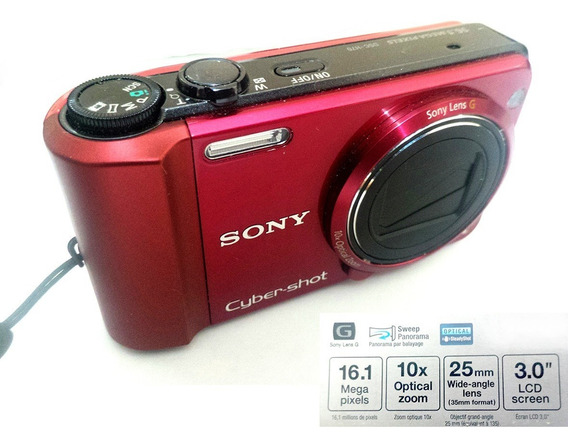 Câmera Sony Cyber Shot Dsc-h70