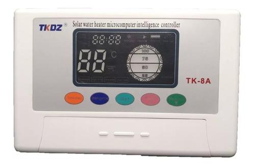 Controlador Electronico Tk 8 Termotanque Solar Controladora