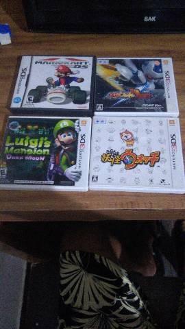 Jogos De 3ds E Nds Top, Original Com Tdos Os Encartes.