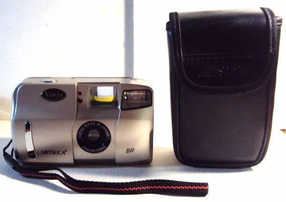 527 Prd- Antiga Câmera Analógica Ninja- Mitsuca- Funcionando
