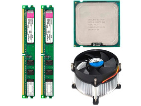 4gb Memoria Ddr2 (2x2) Core 2 Duo E8400 E Cooler Dex