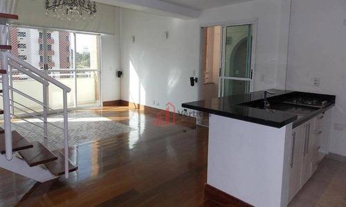 Loft, 95 M² - Venda Por R$ 990.000,00 Ou Aluguel Por R$ 4.200,00/mês - Jardim Anália Franco - São Paulo/sp - Lf0011
