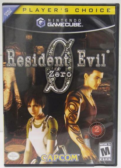 Resident Evil 0 Game Cube Original