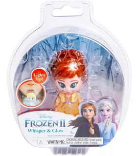 Muñeco Figura Frozen 2 Whisper & Glow Disney Oficial Lelab