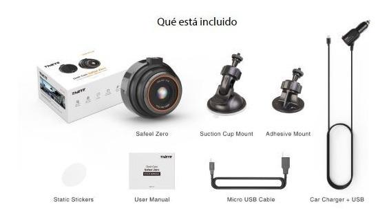 Cámara Para Carro Thieye Safeel Zero Dash Cam 1080p
